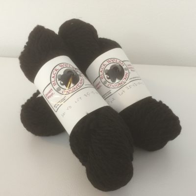 Black Welsh Yarn