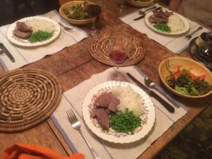 Mutton Dinner
